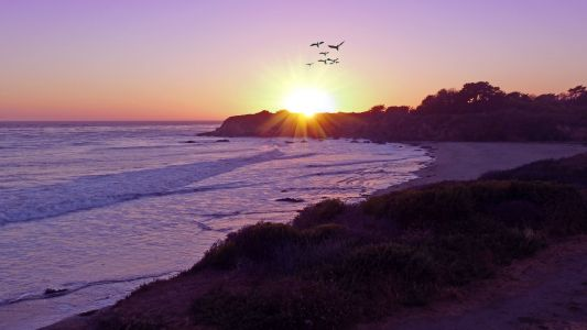 Cambria-Leffingwell-Landing-Moonstone-Beach-Sunset-Pixabay-1920x1080