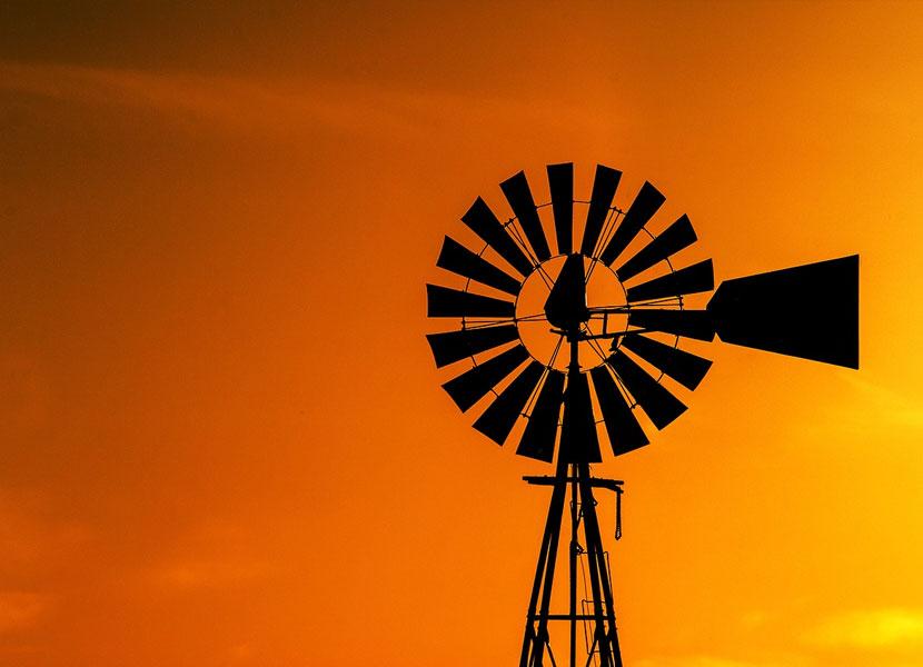 Creston Windmill Water Pump