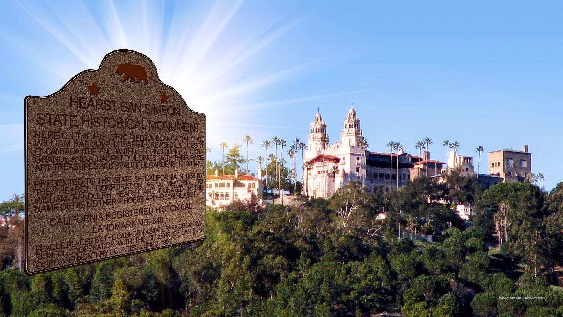 La Cuesta Encantada with Monument 640 - Photo: Fietsbel on Wikimedia